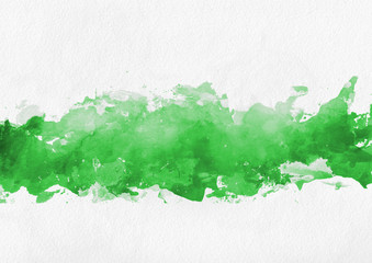 Colorful bright green paint splash background