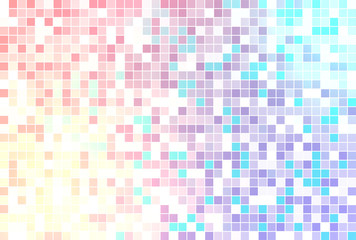 Colorful celebratory cheerful geometric abstract background
