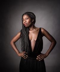 african model alluring