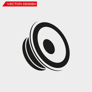 Car speaker icon