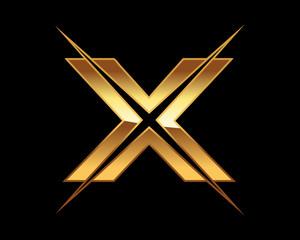 Golden Initial X