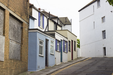 Typical British house in Hastings