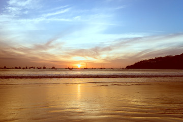 san juan del sur sunset, Nicaragua