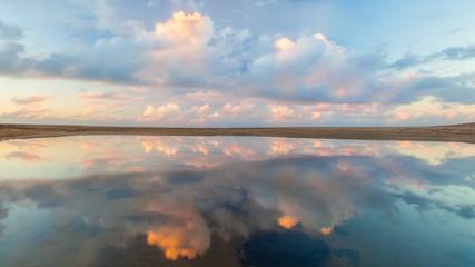 Reflection Kauai Sunset