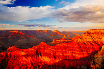 Keuken foto achterwand Rood Mather Point, View Point, Grand Canyon National Park, Arizona, USA