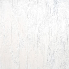 Closeup surface wood pattern at white painted wood board at the old wood wall texture background