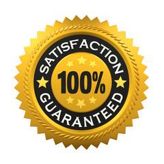 Satisfaction Guaranteed Label
