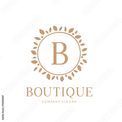 Luxury brand identity boutique hotel logo hotel logo for Best boutique hotel brands
