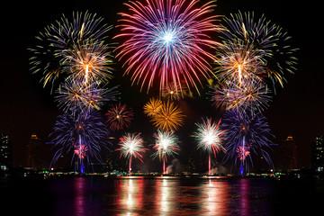 Fireworks for celebration night