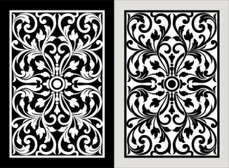 Vector vintage border frame engraving with retro ornament Vector