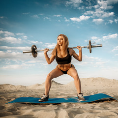 fitness in the desert