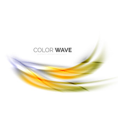 Shiny color wave
