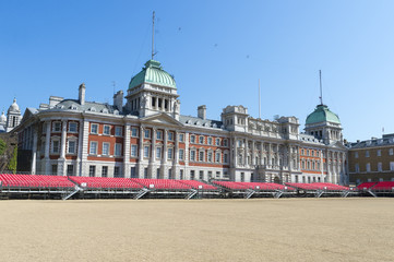 Horse Guards Parade public plaza in London, United Kingdom