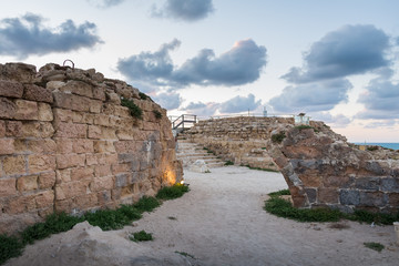 Stronghold in Apollonia National Park