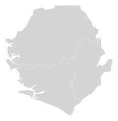 Map - Sierra Leone