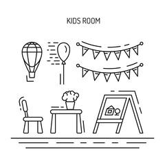 kids room inerior
