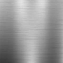 Poster de jardin Metal Metal texture. Vector background