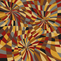 Mosaic of spirals