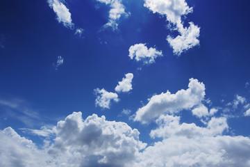 blue sky with cloud. Sky daylight.
