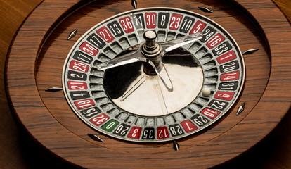 Roulette con dettaglio pallina nel numero 9.