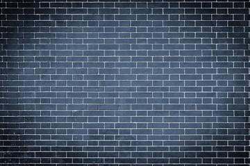 texture brick wall of dark blue color