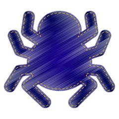Spider sign illustration