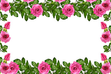 The buds of flowers roses. Holiday card