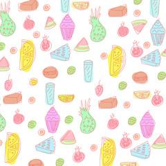 Cake pattern design