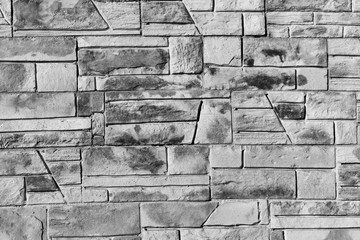 black and white stone wall, background, texture, stone, tile, marble.