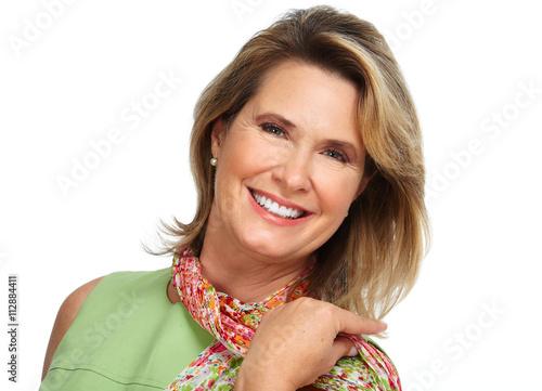 "Beautiful elderly woman portrait."" Imagens e fotos de stock Royalty ..."