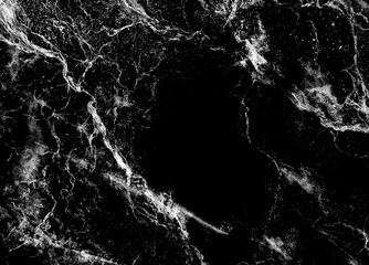 Black marble natural for design texture pattern and background a