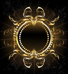 Golden Tribal Frame