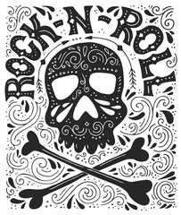 Rock-n-roll poster