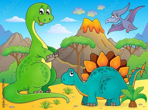 Image with dinosaur thematics 6
