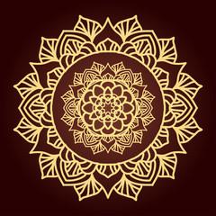 Ethnic decorative element.