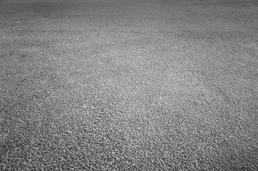 Dark gray asphalt pavement of new highway