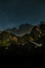 Heather Lake Night Landscape