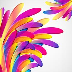 Splash. Multicolor abstract bright background.