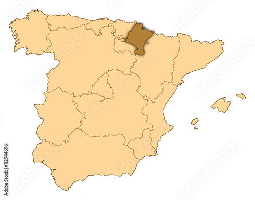Map Of Spain Download Free.Map Spain Navarre Stock Photo And Royalty Free Images On Fotolia