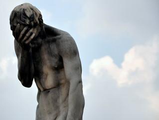 Paris - Kain-Statue vor Tuileries GartenParis -