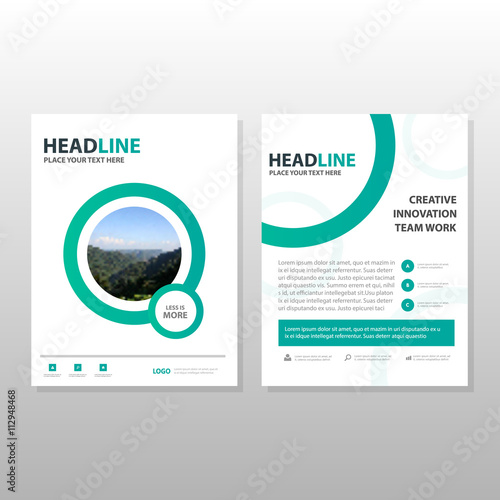 corporate business proposal leaflet brochure flyer template design
