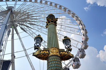 Roue de Paris - Riesenrad auf der Place de la Concorde in Paris