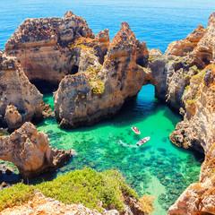 Ponta da Piedade in Algarve, Portugal