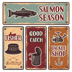 Fishing Emblem Set