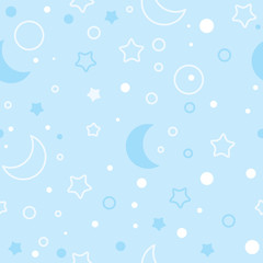 children's pattern - night