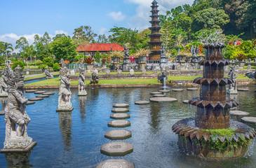 Water Palace of Tirta Ganggain East Bali, Indonesia