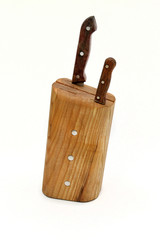 Wooden stand for knife