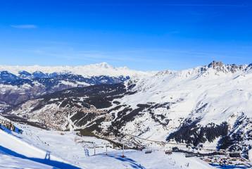 Meribel Ski Resort, Meribel Village Center (1450 m). France