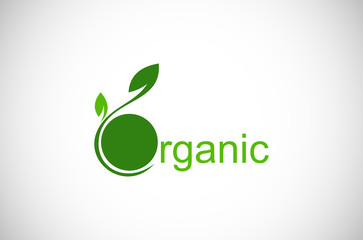 leaf organic logo