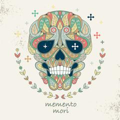 Picture decorative skull.